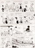 Original Comic Art, Achdé Les Aventures de Lucky Luke, L'Homme de Washington #3 Planche 29 (Lucky Comics, 2008)....