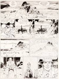 Jean Giraud (Moebius) Blueberry Arizona Love #23 Planche 10 (Alpen Publishers, 1990)