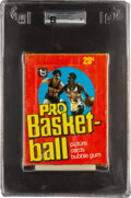 Basketball Cards:Unopened Packs/Display Boxes, 1978 Topps Basketball Wax Box With 36 Unopened Packs GAI Mint 9. ...