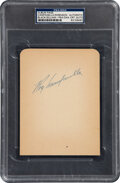 Autographs:Others, Circa 1954 Jackie Robinson & Roy Campanella Multi-Signed Album Page, PSA/DNA Authentic....