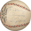 Baseball Collectibles:Balls, Late 1920's Lou Gehrig Single Signed Baseball....