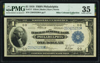 Fr. 717 $1 1918 Federal Reserve Bank Note PMG Choice Very Fine 35