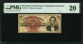 Fractional Currency:Fourth Issue, Fr. 1374 50¢ Fourth Issue Lincoln PMG Very Fine 20.. ...