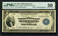 Fr. 721 $1 1918 Federal Reserve Bank Note PMG About Uncirculated 50