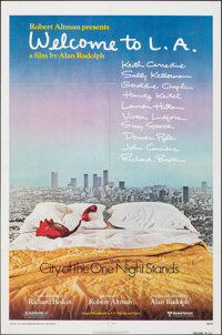 "Welcome to L.A. (United Artists, 1976). Folded, Very Fine. One Sheet (27"" X 41""). Drama"