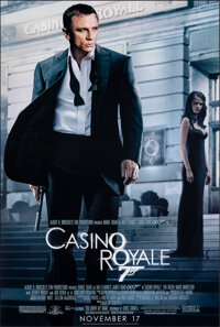 "Casino Royale (MGM, 2006). Rolled, Very Fine+. One Sheet (26.75"" X 39.75"") SS Advance. James Bond"