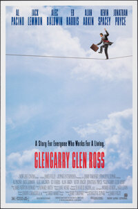 """Glengarry Glen Ross & Other Lot (New Line, 1992). Rolled, Very Fine. One Sheet (27"""" X 41"""") DS, & Briti..."""
