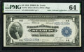Fr. 733 $1 1918 Federal Reserve Bank Note PMG Choice Uncirculated 64