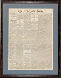 New York Times: First Printing of the Gettysburg Address.... (Total: 2)