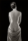 Photographs, Ruth Bernhard (American, 1905-2006). Draped Torso, 1962. Gelatin silver, printed later. 13-1/2 x 9-3/8 inches (34.3 x 23...