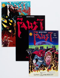 Faust #1-10 Group (Various Publishers, 1989-93) Condition: Average NM-.... (Total: 20 Comic Books)