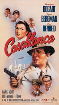 """Movie Posters:Academy Award Winners, Casablanca (MGM, R-1988). Rolled, Very Fine+. Video Poster (20"""" X 35.75"""") Bob Gleason Artwork. Academy Award Winners.. ..."""
