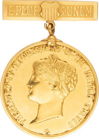 Gold Presidential Lifesaving Medal