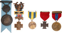 Spanish-American War: Assorted Medals I.D.'d to Charles Rozzle [Battle of Santiago de Cuba]