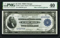 Fr. 765 $2 1918 Federal Reserve Bank Note PMG Extremely Fine 40