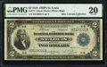 Fr. 771 $2 1918 Federal Reserve Bank Note PMG Very Fine 20
