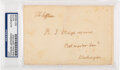 Autographs:U.S. Presidents, Thomas Jefferson: Free Frank Signature and Cover Panel....
