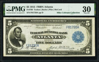 Fr. 789 $5 1915 Federal Reserve Bank Note PMG Very Fine 30