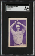 """Baseball Cards:Singles (1930-1939), 1933 Uncle Jacks Candy """"Lefty"""" Grove SGC Authentic...."""