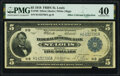 Fr. 798 $5 1918 Federal Reserve Bank Note PMG Extremely Fine 40