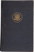 Books:Americana & American History, [John F. Kennedy Assassination]: Warren Commission Report Signed by All Seven Commission Members to Congresswoman Edna Kelly....
