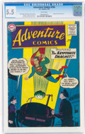 Silver Age (1956-1969):Superhero, Adventure Comics #256 (DC, 1959) CGC FN- 5.5 White pages....