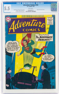 Adventure Comics #256 (DC, 1959) CGC FN- 5.5 White pages