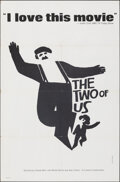 """Movie Posters:Foreign, The Two of Us (Cinema V, 1968). Folded, Very Fine-. One Sheet (27"""" X 41"""") Saul Bass Artwork. Foreign.. ..."""