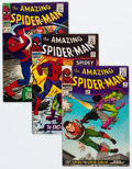 Silver Age (1956-1969):Superhero, The Amazing Spider-Man #39, 40, and 42 Group (Marvel, 1966) Condition: Average VG/FN.... (Total: 3 Comic Books)