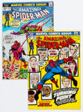 Bronze Age (1970-1979):Superhero, The Amazing Spider-Man #121 and 122 Group (Marvel, 1973) Condition: Average VG/FN.... (Total: 2 Comic Books)