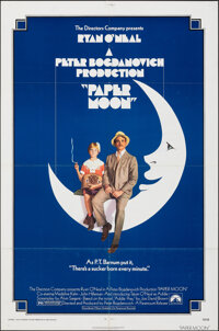 """Paper Moon & Other Lot (Paramount, 1973). Folded, Very Fine. One Sheets (2) (27"""" X 41""""). Comedy. ... (Tota..."""