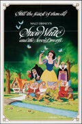 """Movie Posters:Animation, Snow White and the Seven Dwarfs & Other Lot (Buena Vista, R-1983). Folded, Very Fine-. One Sheets (2) (27"""" X 41""""). Animation... (Total: 2 Items)"""