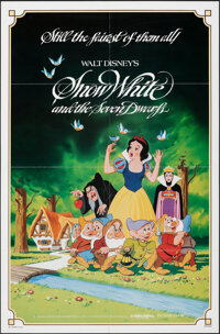 """Snow White and the Seven Dwarfs & Other Lot (Buena Vista, R-1983). Folded, Very Fine-. One Sheets (2) (27"""" X 41..."""