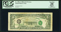 Error Notes:Third Printing on Reverse, Third Printing on Back Error Fr. 1981-F $5 1988A Federal Reserve Note. PCGS Apparent Very Fine 20.. ...