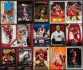 Basketball Cards:Lots, 2005-07 Topps, Fleer and Upper Deck Lebron James Basketball Insert Collection (15). ...