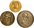 Henry Clay, William Henry Harrison and Zachary Taylor: Three Clothing Buttons