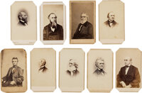 Abraham Lincoln and His Cabinet: CDVs and More