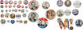 Political:Pinback Buttons (1896-present), Thomas Dewey: Assorted Campaign Buttons....