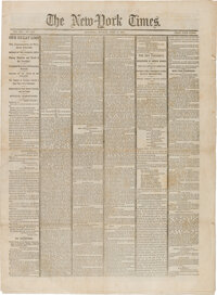 New York Times April 17, 1865: Lincoln Assassination