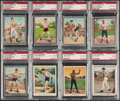 Boxing Cards:General, 1910 T220 Champions Silver & White Border Boxing Collection (8)....
