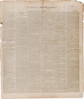 Miscellaneous:Newspaper, National Intelligencer (Washington, DC) December 8, 1831: Indian Removal Policy by Andrew Jackson....