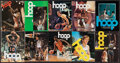 Basketball Collectibles:Programs, 1974-79 NBA Significant Game Programs with Hall of Famers on Covers Lot of 19...