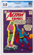Silver Age (1956-1969), Action Comics #242 (DC, 1958) CGC GD/VG 3.0 Cream to off-white pages....