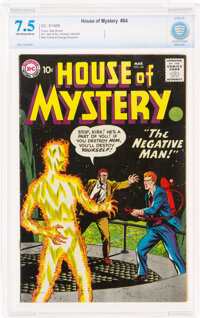 House of Mystery #84 (DC, 1959) CBCS VF- 7.5 Off-white to white pages