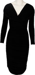 Movie/TV Memorabilia:Costumes, Kim Kardashian Personally Owned Black Dress....