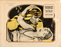 "The Son of the Sheik (United Artists, 1926). Fine on Linen. Half Sheet (21.75"" X 28"")"