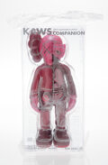 Collectible, KAWS (b. 1974). Dissected Companion (Blush), 2016. Painted cast vinyl. 10-1/2 x 4-1/2 x 2-1/2 inches (26.7 x 11.4 x 6.4 ...