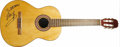 Musical Instruments:Acoustic Guitars, Neil Young Autographed Guitar. A six-string acoustic guitar inscribed and signed by Young in blue marker on the body. In Exc...