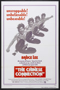 "Movie Posters:Action, The Chinese Connection (National General, 1973). One Sheet (27"" X41""). Martial Arts. Starring Bruce Lee and Nora Miao. Dire..."
