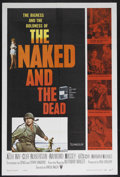 "Movie Posters:War, The Naked and the Dead (RKO, 1958). One Sheet (27"" X 41""). War.Starring Aldo Ray, Cliff Robertson, Raymond Massey, Lili St...."